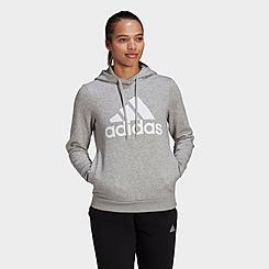 Women's adidas LOUNGEWEAR Essentials Logo Fleece Hoodie