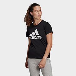 Women's adidas LOUNGEWEAR Essentials Logo T-Shirt