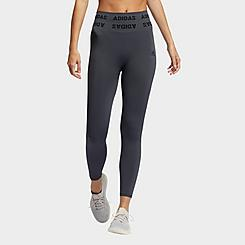 Women's adidas Training Aeroknit Cropped High-Rise Tights