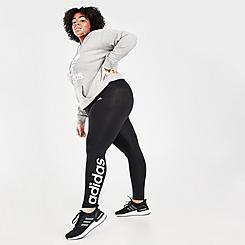 Women's adidas Essentials High Waist Logo Leggings (Plus Size)
