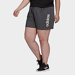 Women's adidas Essentials 3-Stripes Athletic Shorts (Plus Size)