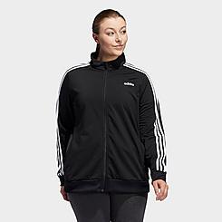Women's adidas Essentials Tricot Track Jacket (Plus Size)