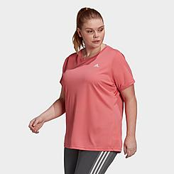 Women's adidas AEROREADY Designed 2 Move Training T-Shirt (Plus Size)
