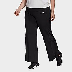 Women's adidas Designed 2 Move Bootcut Pants (Plus Size)
