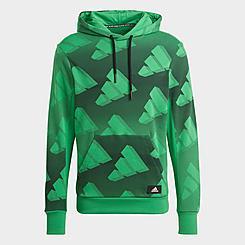 Men's adidas Sportswear Allover Print Hoodie