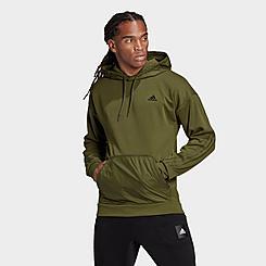 Men's adidas Sportswear Fabric Block Hoodie