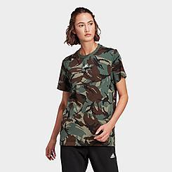 Women's adidas Essentials Boyfriend Camouflage T-Shirt