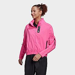Women's adidas Primeblue Full-Zip Track Jacket