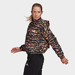 Women's adidas Sportswear Adjustable Woven Wind Jacket
