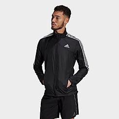 Men's adidas Marathon 3-Stripes Running Jacket