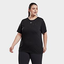 Women's Reebok Burnout Training T-Shirt (Plus Size)