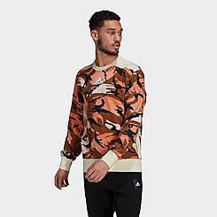Men's adidas Sportswear Z.N.E. Graphic Crewneck Sweatshirt