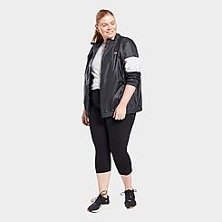 Women's Reebok Lux Cropped Training Leggings (Plus Size)