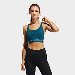 Women's adidas Training Aeroknit Light-Support Sports Bra