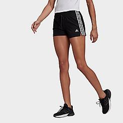 Women's adidas Essentials Slim 3-Stripes Shorts