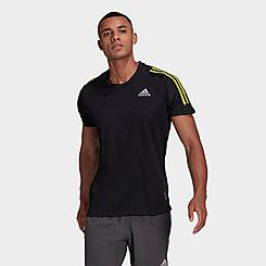 Men's adidas Own The Run 3-Stripes Iteration T-Shirt