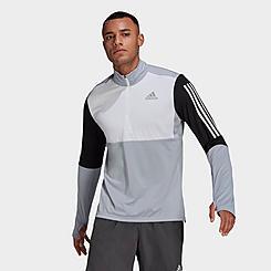 Men's adidas Own The Run Half-Zip Running Top