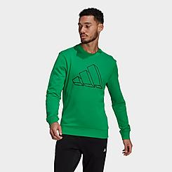 Men's adidas Sportswear Future Icons Graphic Crewneck Sweatshirt