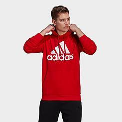 Men's adidas Essentials Fleece Big Logo Hoodie