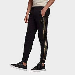 Men's adidas Originals Camo 3-Stripes Jogger Pants
