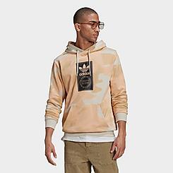 Men's adidas Originals Box Logo Camo Print Hoodie