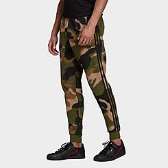 Men's adidas Originals Camo Allover Print Jogger Pants