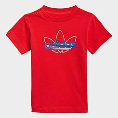 Kids' Toddler and Little Kids' adidas Originals Sport Collection Graphic T-Shirt