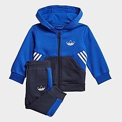 Infant and Kids' Toddler adidas Originals SPRT Collection Full-Zip Hoodie and Jogger Pants Set