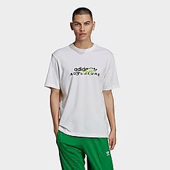 Men's adidas Originals Adventure Big Logo T-Shirt
