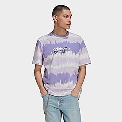 Men's adidas Originals Adventure Archive Printed T-Shirt