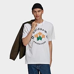 Men's adidas Originals Adventure Flowers T-Shirt