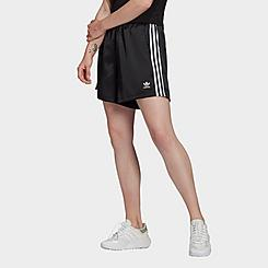 Women's adidas Originals Adicolor Classics Satin Athletic Shorts