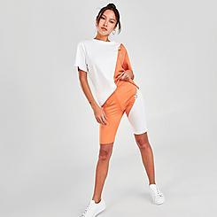 Women's adidas Originals Adicolor Sliced Trefoil Short Tights