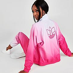 Women's adidas Originals Tie-Dye Girls Are Awesome Track Jacket