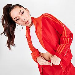 Women's adidas Originals Adicolor Sliced Trefoil Japona Track Top