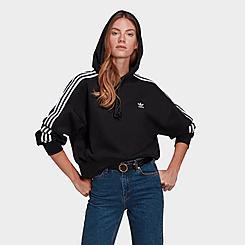Women's adidas Originals R.Y.V. Cropped Hoodie