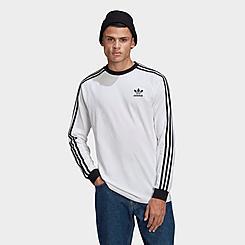 Men's adidas Originals Adicolor Classics 3-Stripes Long-Sleeve T-Shirt