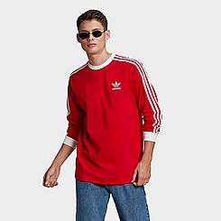 Men's adidas Originals Adicolor Classics 3-Stripes Long-Sleeve T-Shirt