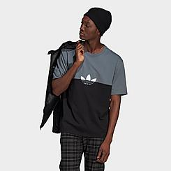 Men's adidas Originals Adicolor Sliced Trefoil Boxy T-Shirt