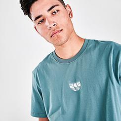 Men's adidas Originals Adicolor 3D Trefoil Graphic T-Shirt