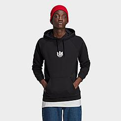 Men's adidas Originals LOUNGEWEAR Adicolor 3D Trefoil Graphic Hoodie