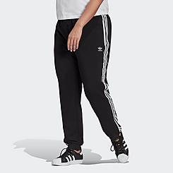 Women's adidas Originals Slim Cuffed Jogger Pants (Plus Size)