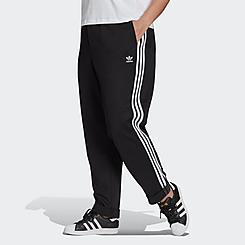Women's adidas Originals Primeblue Relaxed Boyfriend Cuffed Sweatpants (Plus Size)