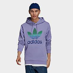 Men's adidas Originals Ombré Trefoil Hoodie