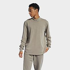 Men's Reebok Classics Natural Dye Mock Neck Long-Sleeve T-Shirt