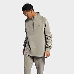 Men's Reebok  Classics Natural Dye Half-Zip Sweatshirt