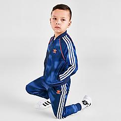 Boys' Infant and Toddler adidas Originals Allover Print Camo SST Track Suit