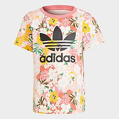 Girls' Little Kids' adidas Originals HER Studio London Floral T-Shirt