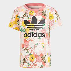Girls' Toddler and Little Kids' adidas Originals HER Studio London Floral T-Shirt