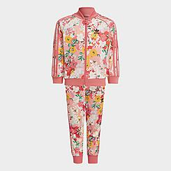 Girls' Toddler and Little Kids' adidas Originals HER Studio London Floral Track Suit